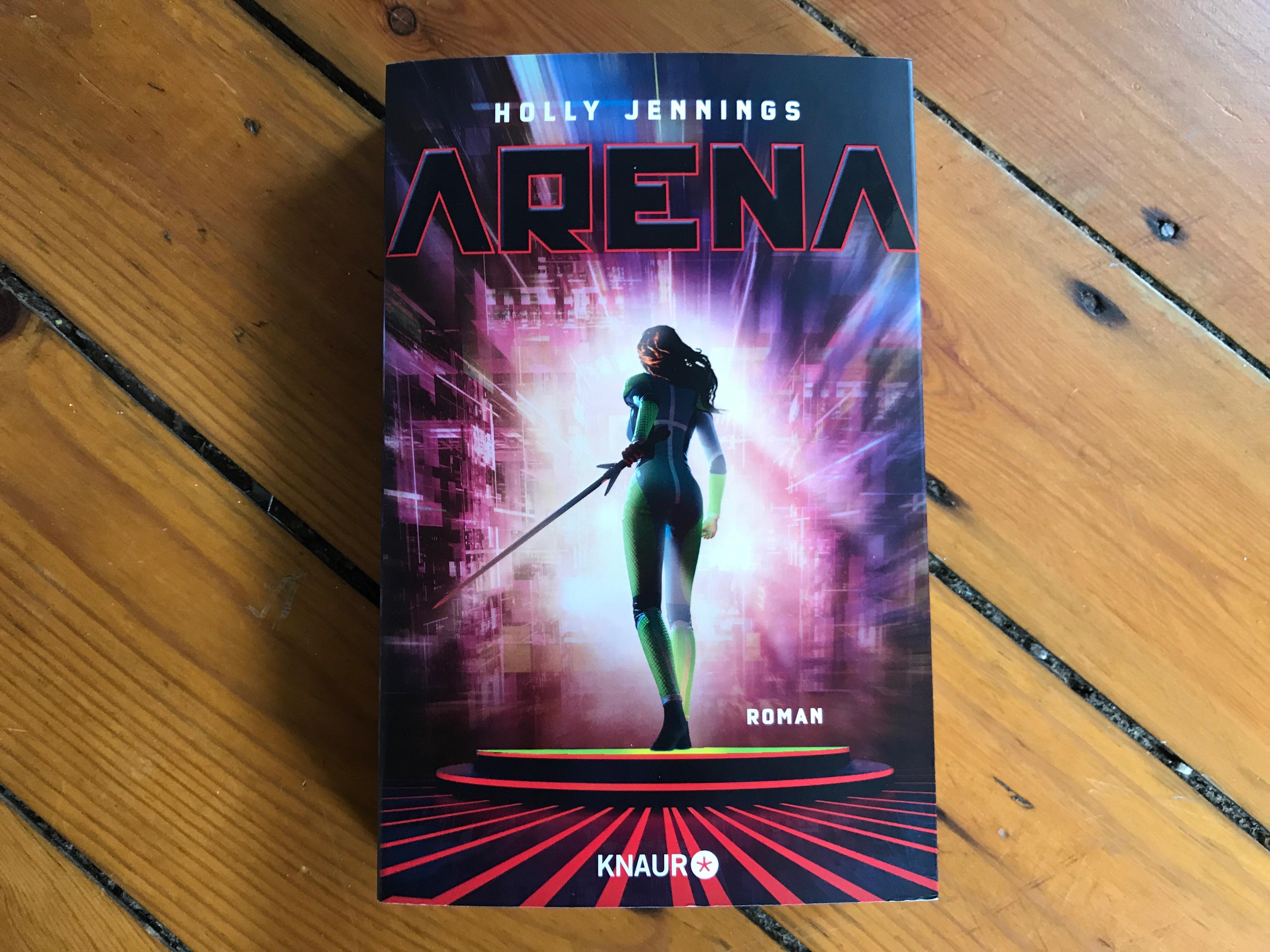 Buchcover ARENA