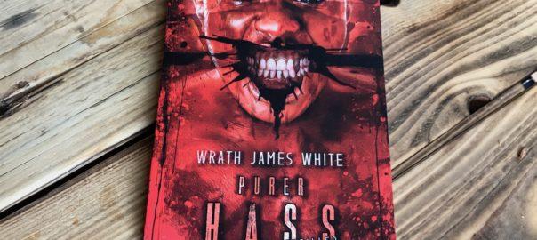 Buchcover Purer Hass mit Gesicht