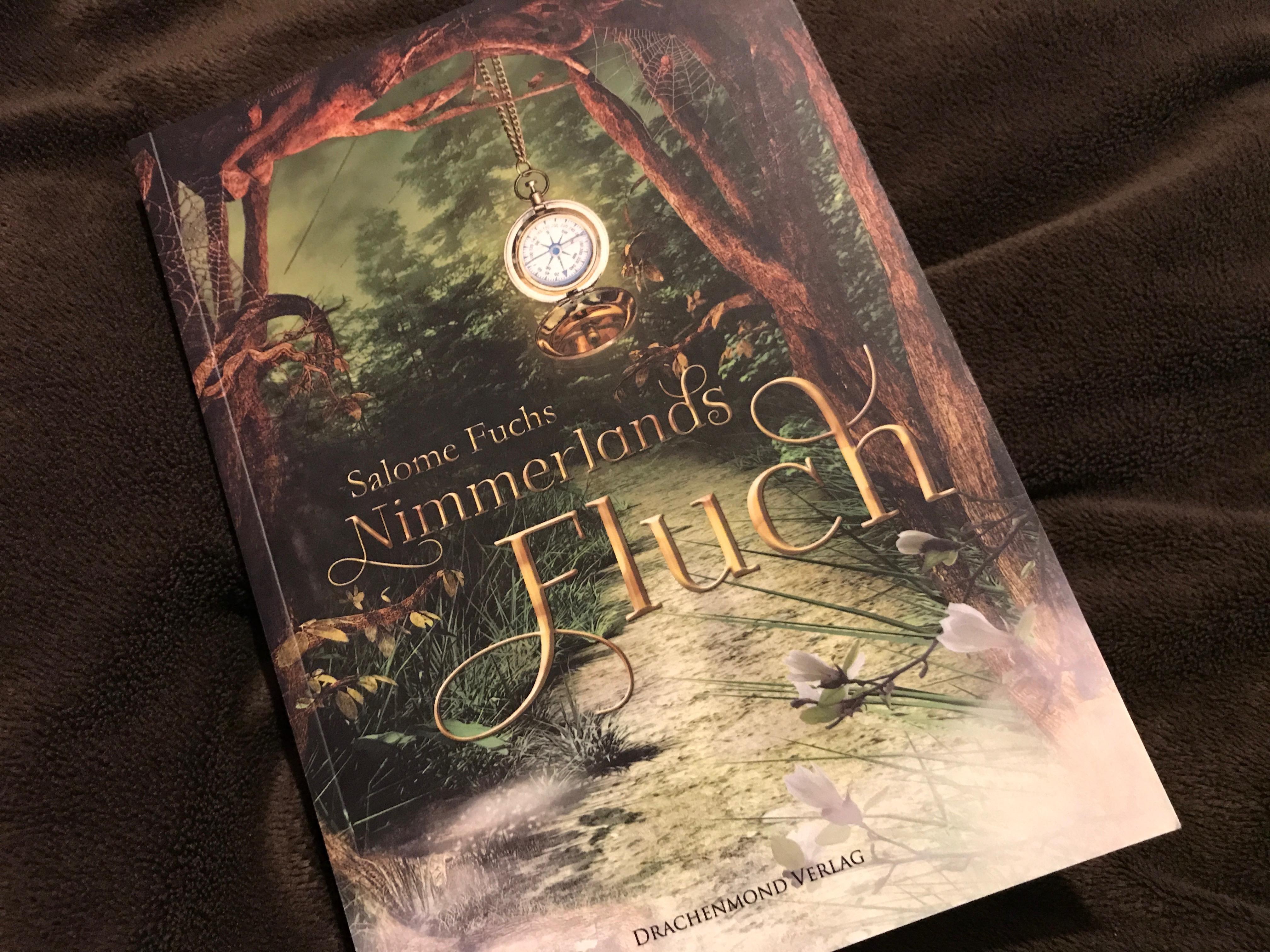 Buchcover Nimmerlands Fluch