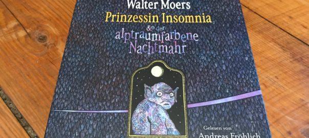 Cover des Hörbuchs zu Prinzessin Insomnia und der alptraumfarbene Nachtmahr