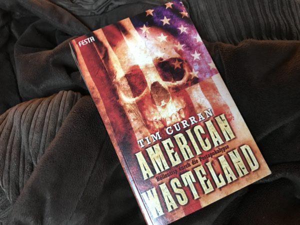 American Westerland auf brauner Decke