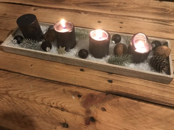 Adventskranz dritter Advent