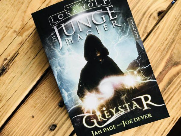 Greystar - Der junge Magier, Spielbuch