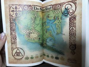 Karte in Greystar - Der junge Magier