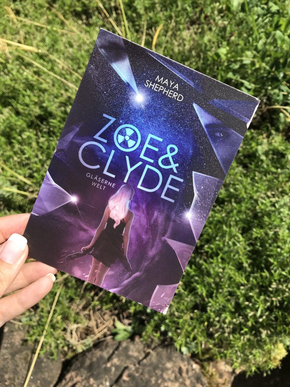 Zoe&Clyde: Gläserne Welt Cover
