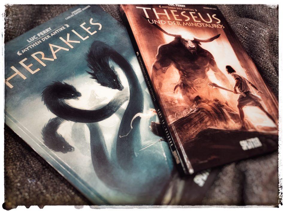 Herakles und Theseus